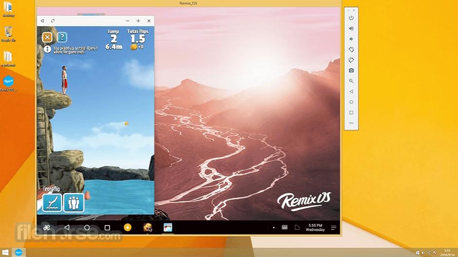 Remix OS Player 1.0.110 Captura de Pantalla 3