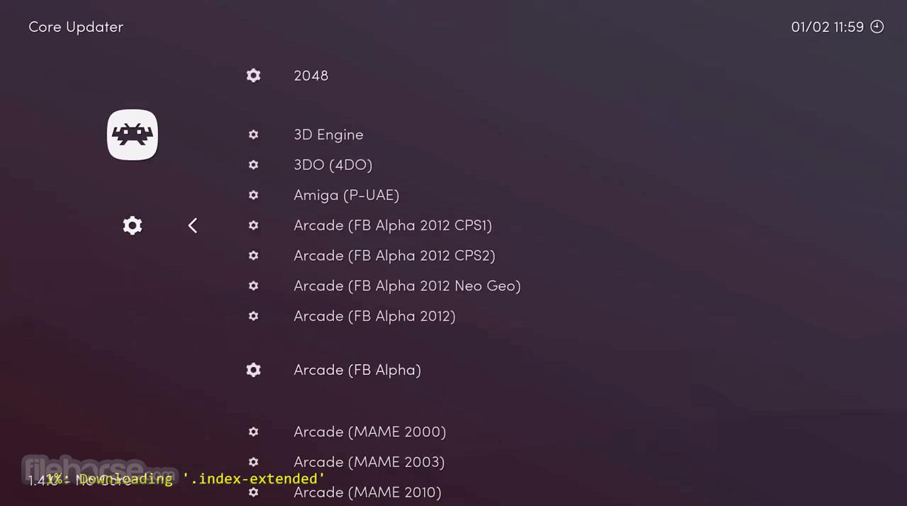 RetroArch 1.9.5 (64-bit) Captura de Pantalla 3