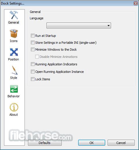 RocketDock 1.3.5 Screenshot 3