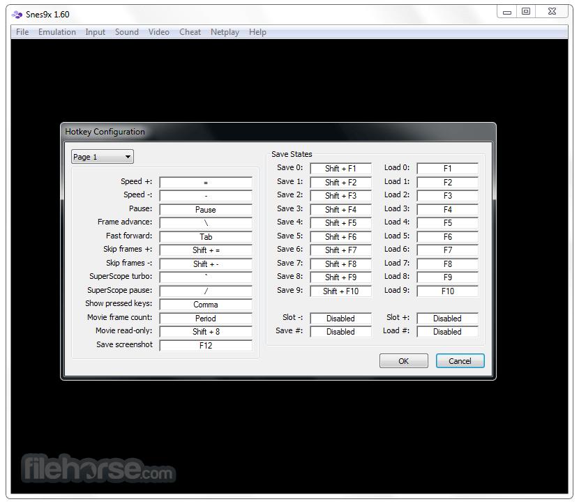 Snes9x 1.60 (32-bit) Captura de Pantalla 2