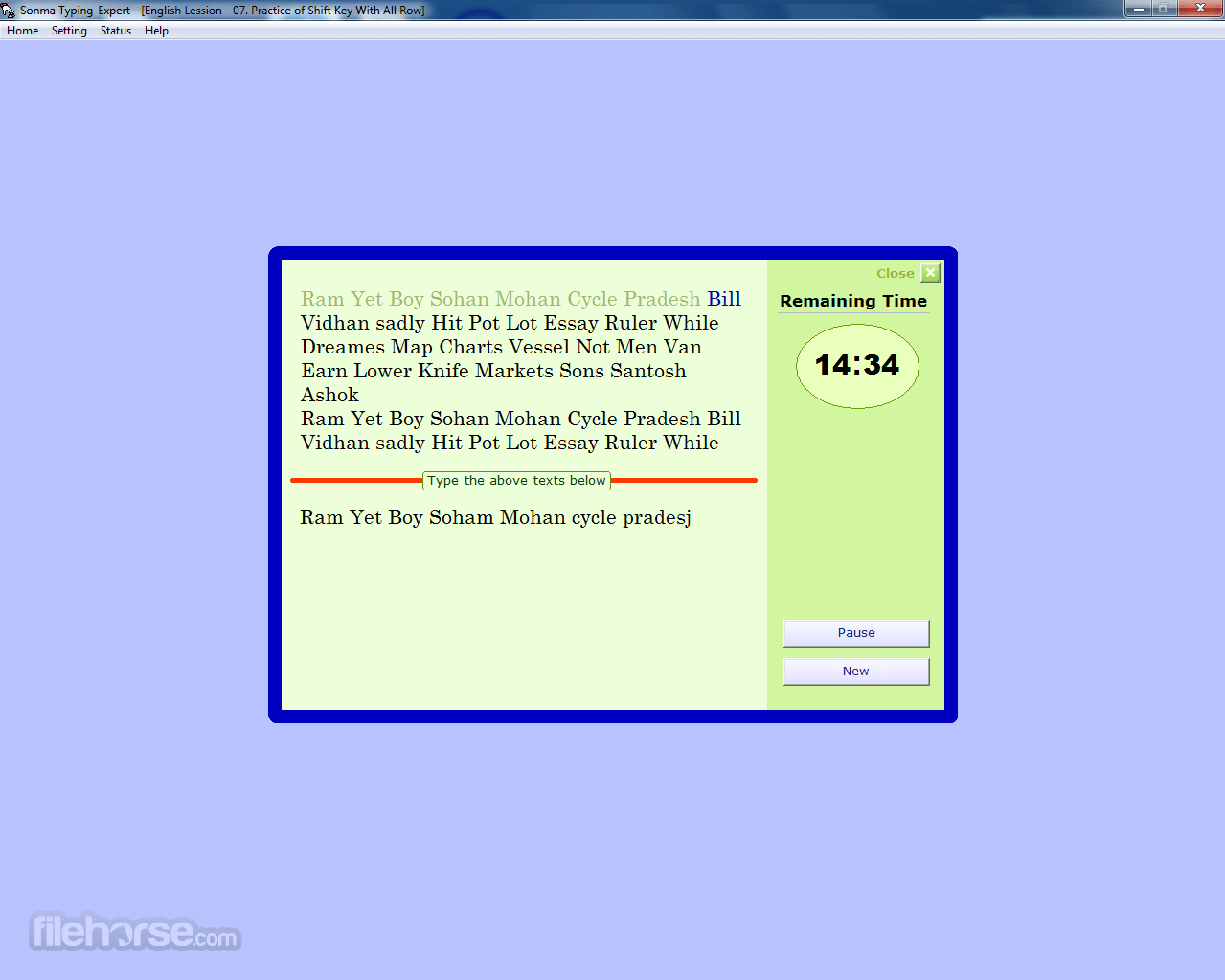 Sonma Typing Expert 2.01.0000 Screenshot 3