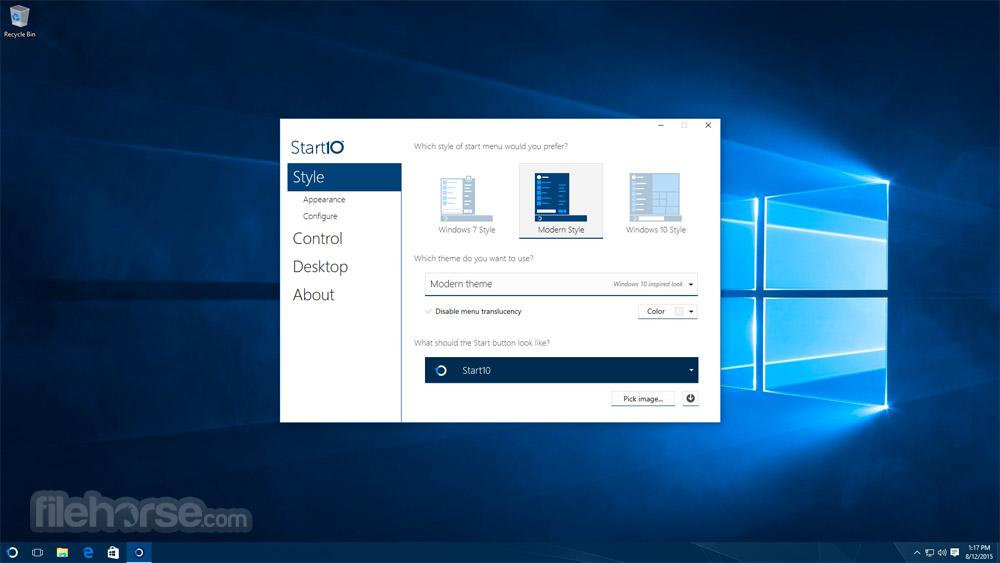 Start10 1.61 Screenshot 4