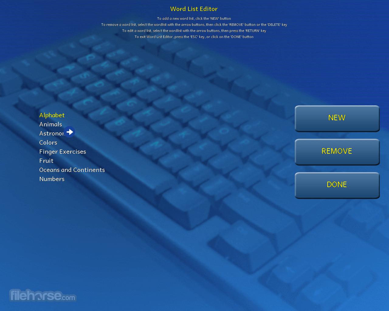 Tux Typing 1.7.2 Captura de Pantalla 4