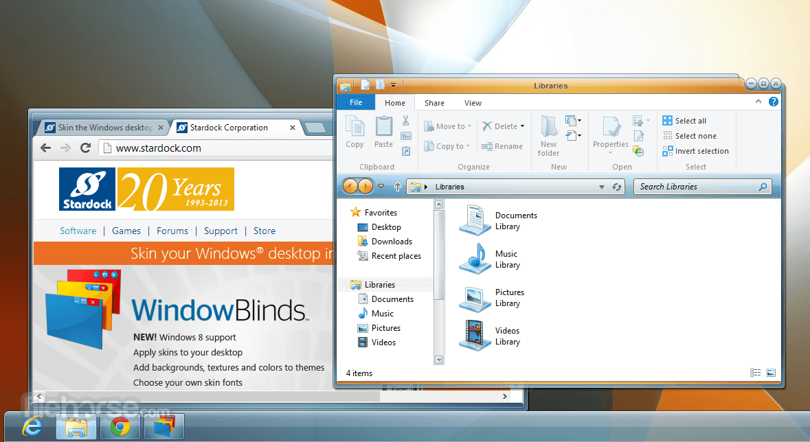 WindowBlinds 10.65 Screenshot 1