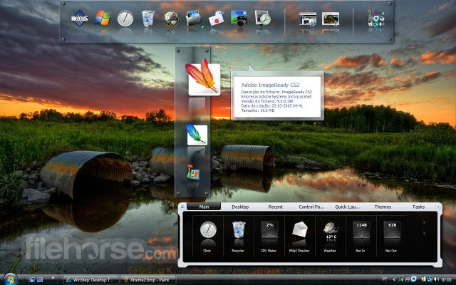 Winstep Nexus Dock 18.5 Captura de Pantalla 1