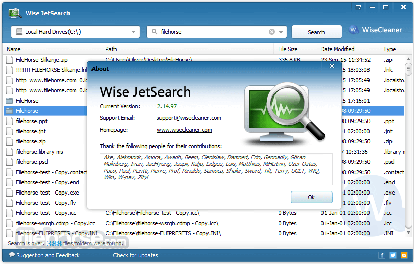 Wise JetSearch 3.0.4.149 Screenshot 3