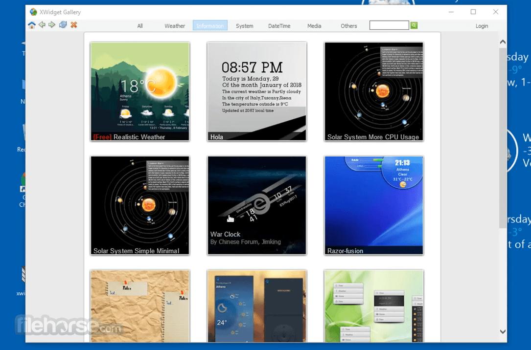 XWidget 1.9.22 Screenshot 4