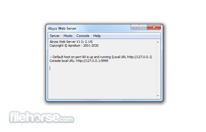 Download  Abyss Web Server for Windows free 2021