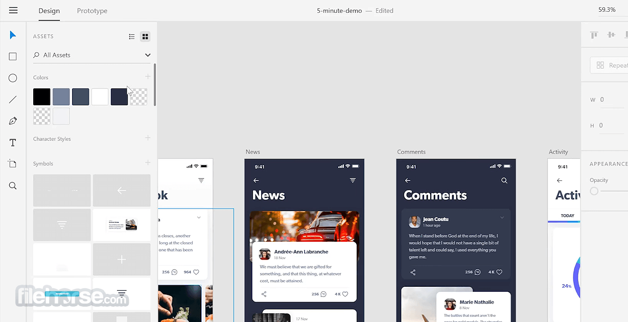 Adobe XD CC 33.0.12 Screenshot 3