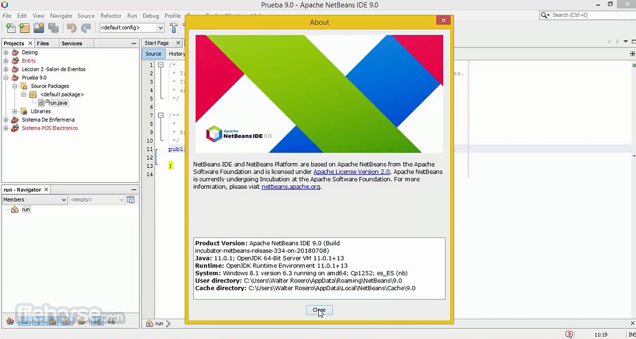 Apache NetBeans Download (2019 Latest) for Windows 10, 8, 7