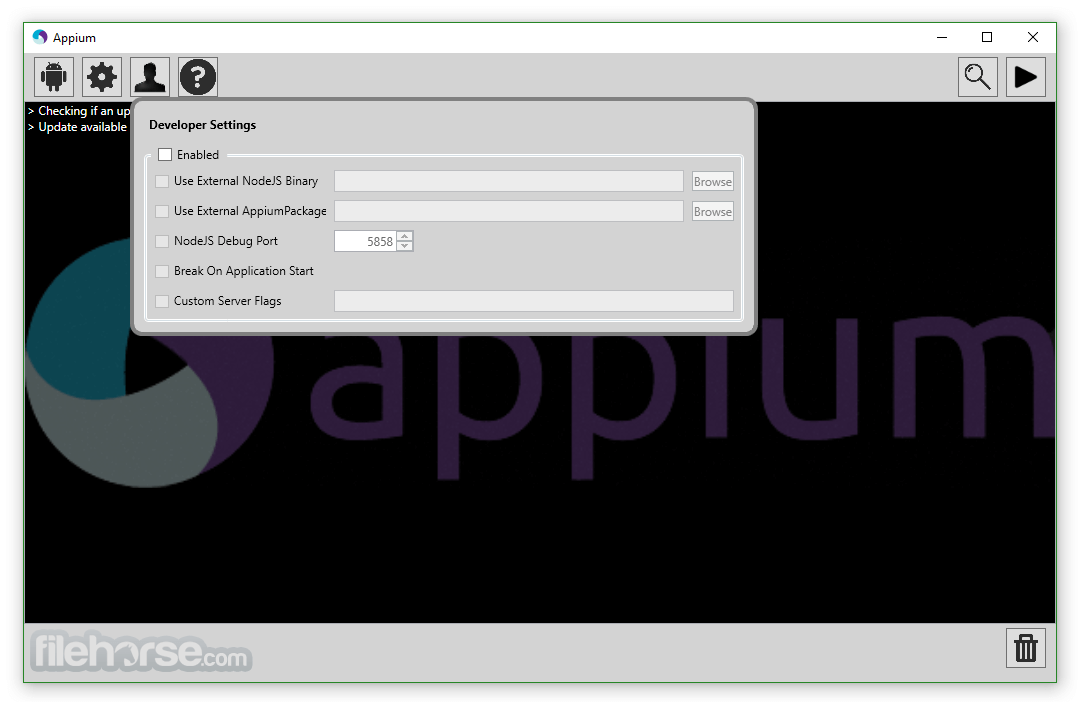 Appium 1.6.3 Screenshot 4