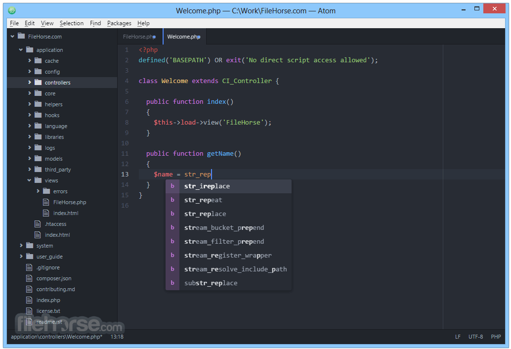 Atom 1.26.0 (32-bit) Screenshot 3