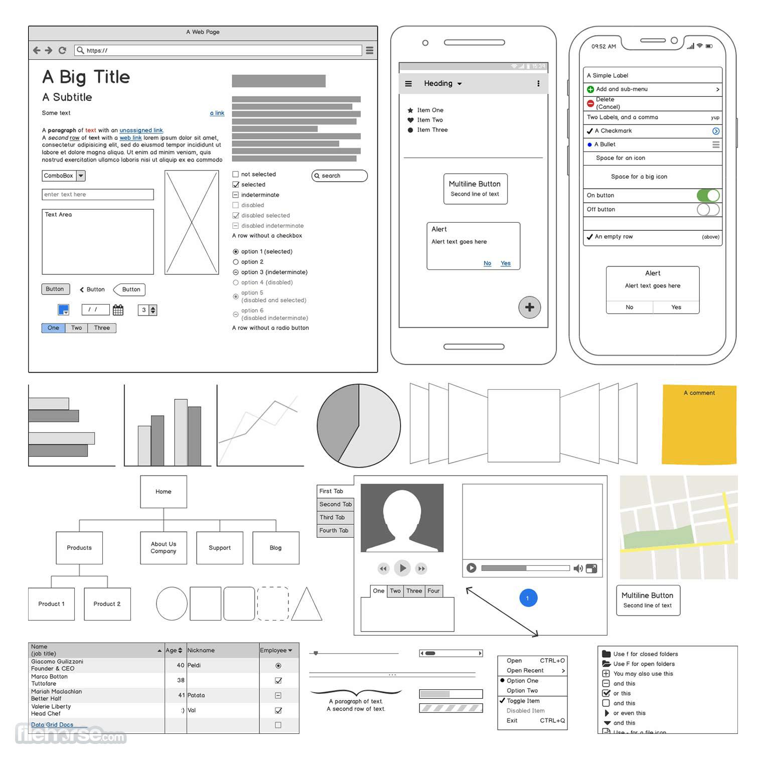 Balsamiq Wireframes 4.1.4 (32-bit) Screenshot 2