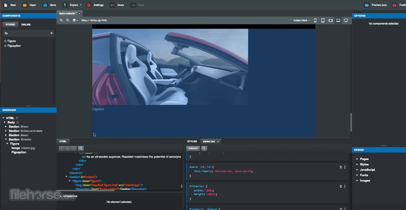 Bootstrap Studio 5.5.1 Screenshot 5