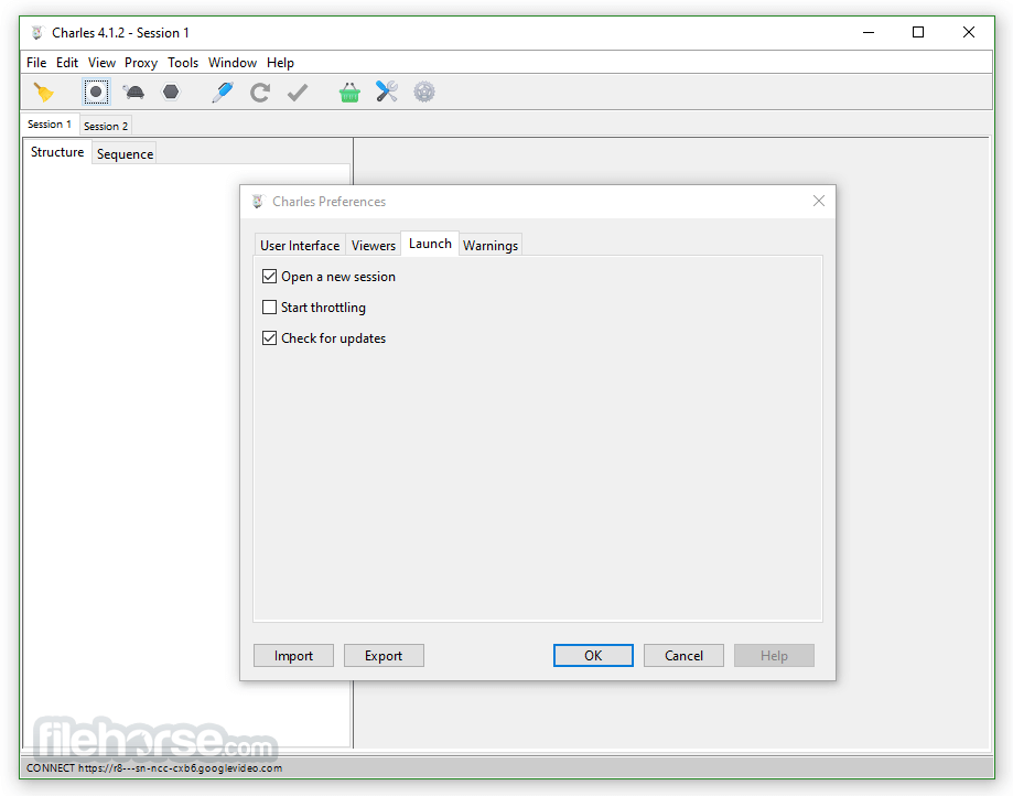 Charles 4.2.7 (32-bit) Screenshot 4