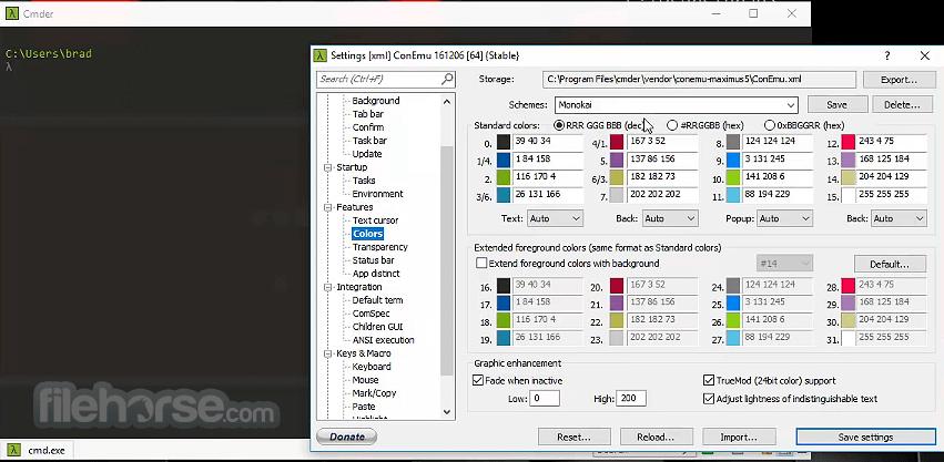 Cmder 1.3.17 Screenshot 1