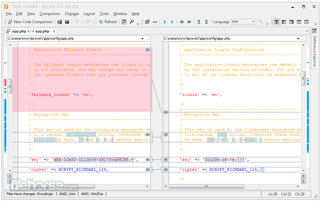Code Compare 4.2.236 Captura de Pantalla 2