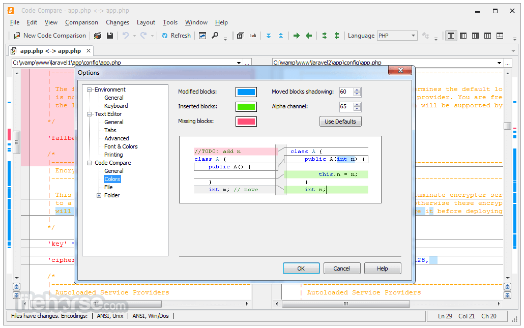 Code Compare 4.2.236 Captura de Pantalla 4