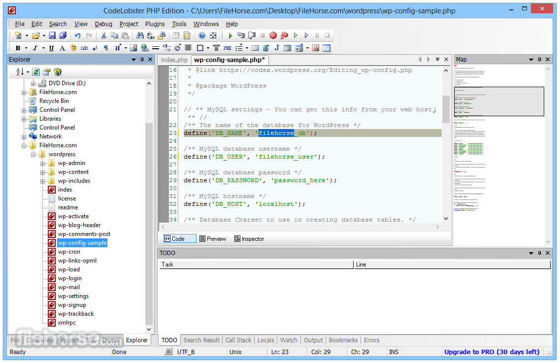 CodeLobster PHP Edition 5.15 Screenshot 1