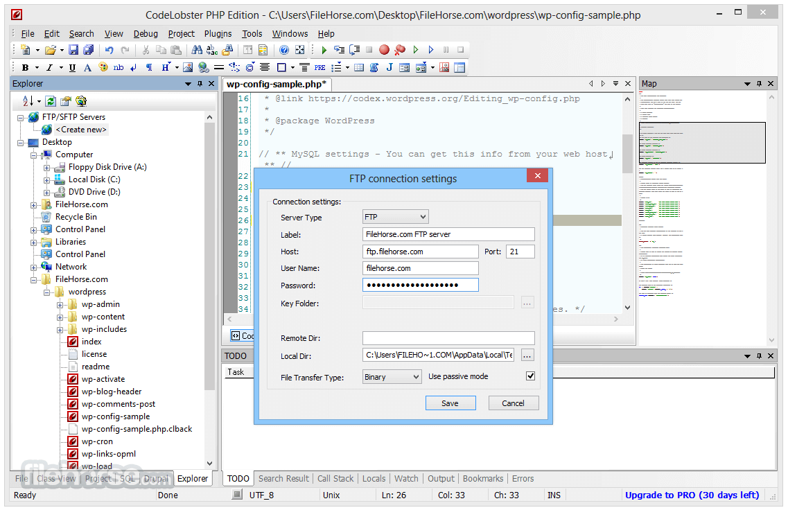 CodeLobster PHP Edition 5.15 Screenshot 3
