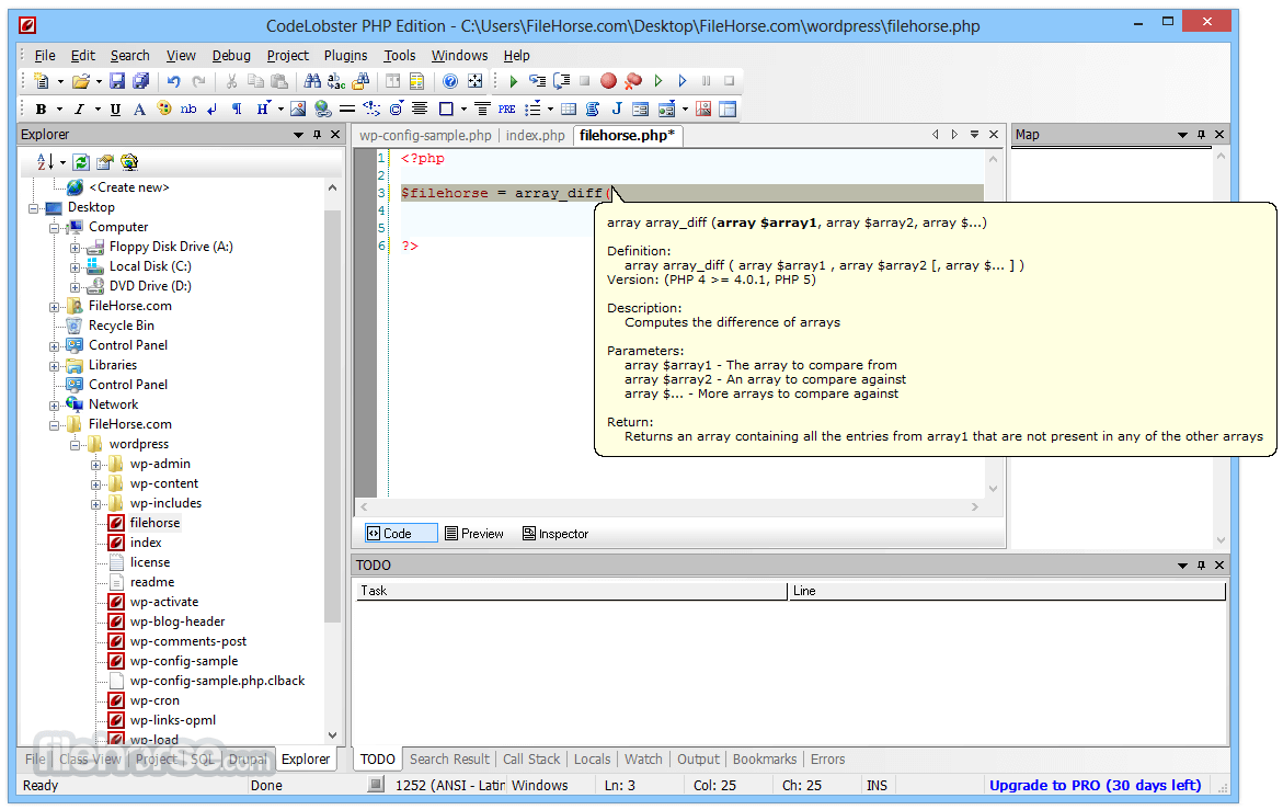 CodeLobster PHP Edition 5.15 Screenshot 4