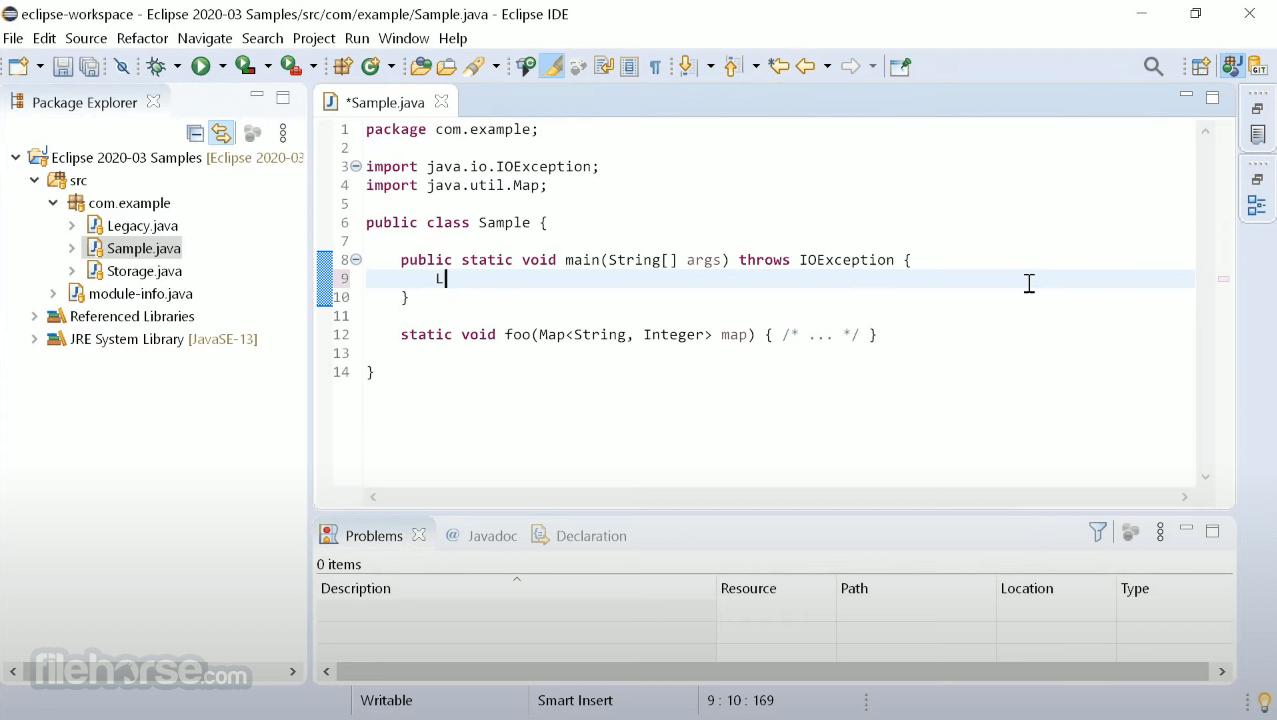 Eclipse IDE 2020-12 R Screenshot 1