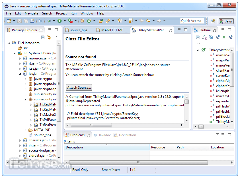 Eclipse SDK 4.7.0 (32-bit) Screenshot 3