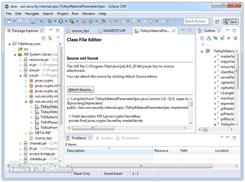 Eclipse SDK 4.7.2 (32-bit) Captura de Pantalla 3