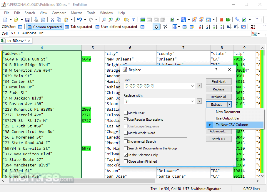 EmEditor Professional 17.2.1 (32-bit) Screenshot 1
