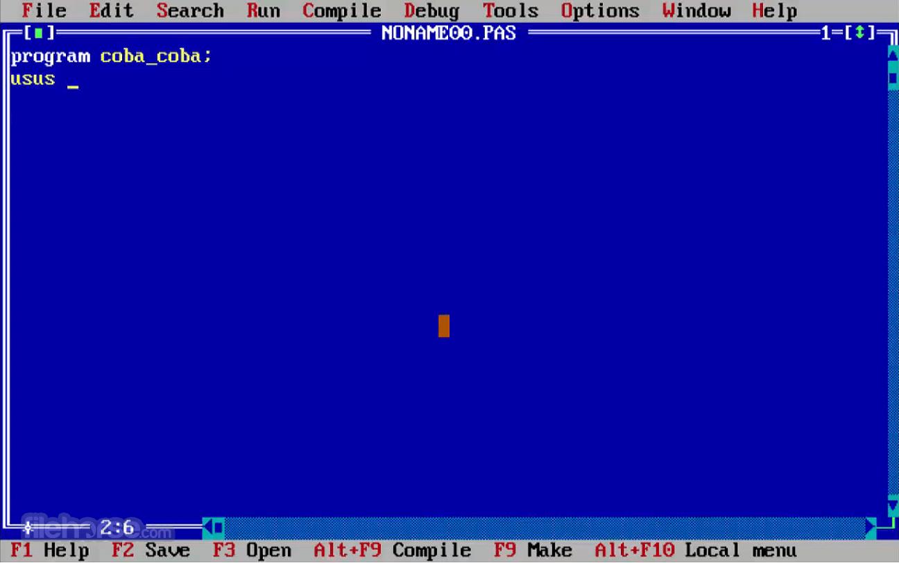 Free Pascal 3.2.2 (32-bit) Screenshot 1