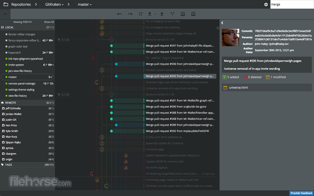 GitKraken 6 1 0 (64-bit) Download for Windows / Change Log
