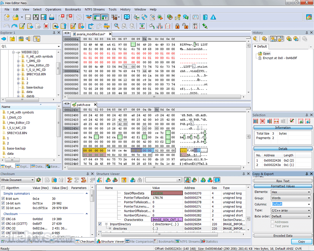 Hex Editor Neo Download (2019 Latest) for Windows 10, 8, 7