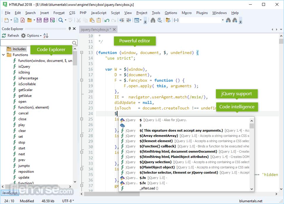 HTMLPad 2016 14.4.0.188 Captura de Pantalla 4