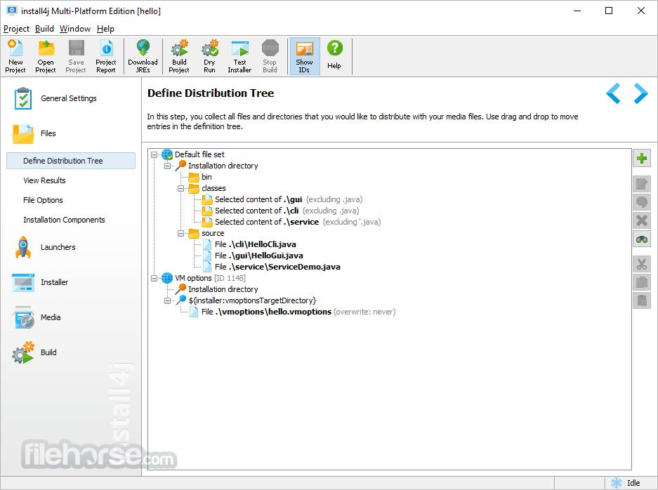 install4j 6.1.6 (32-bit) Screenshot 2