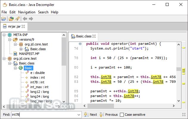 JD-GUI 1.6.6 Screenshot 1