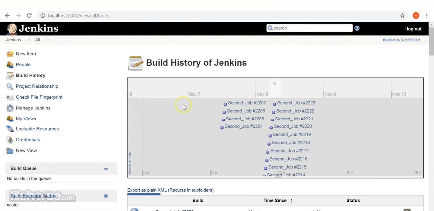Jenkins 2.277.3 Screenshot 2