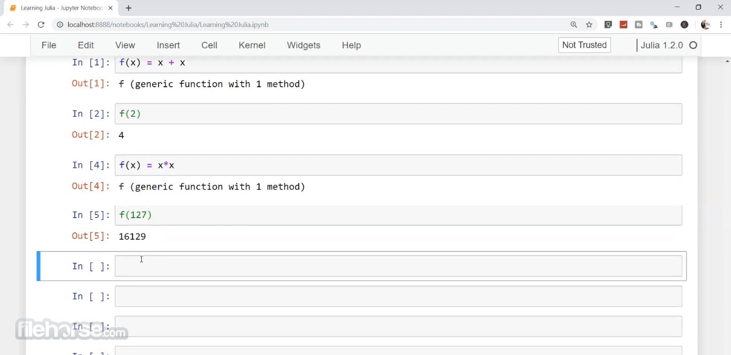 Julia Language 1.6.2 (64-bit) Screenshot 1