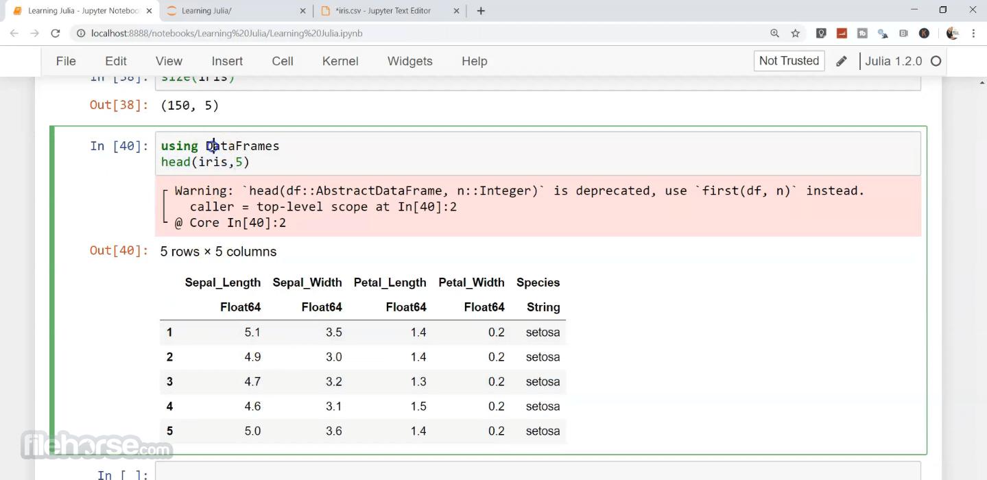 Julia Language 1.6.2 (64-bit) Screenshot 3