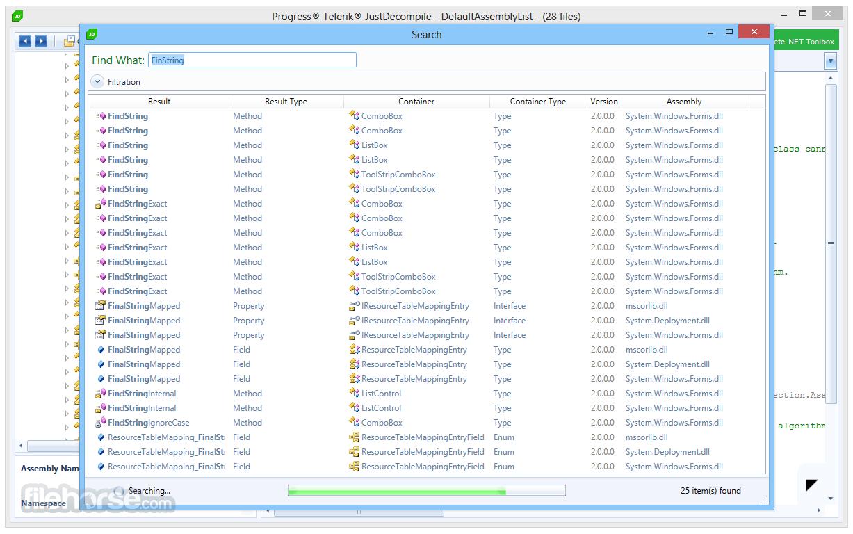 JustDecompile 2018.1.327.2 Screenshot 2