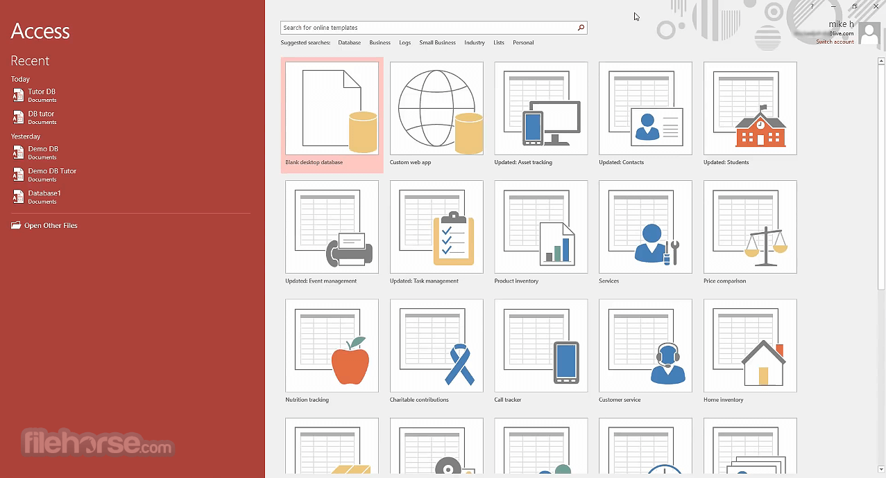 Microsoft Access Download (2019 Latest) for Windows 10, 8, 7