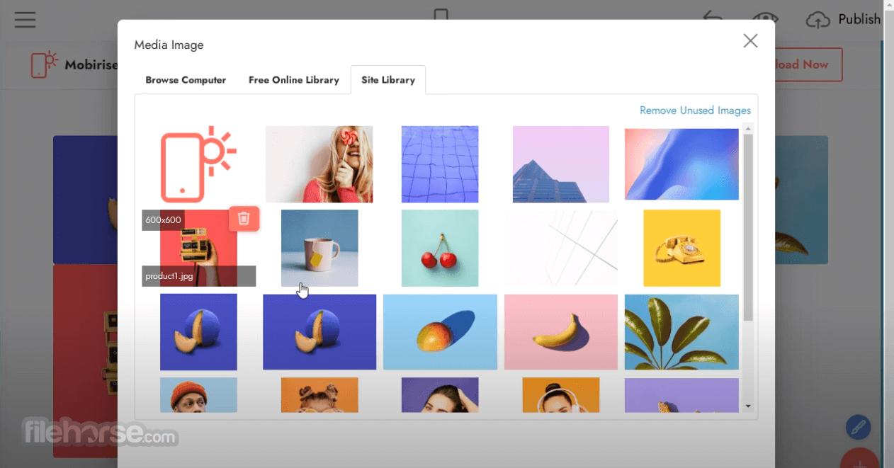 Mobirise 4.9.7 Screenshot 4