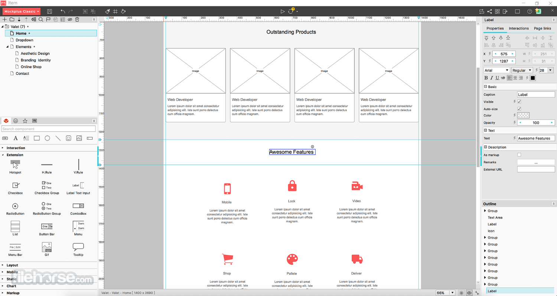 Mockplus Classic 3.6.1.6 Screenshot 3