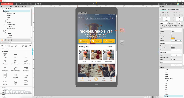 Mockplus Classic 3.6.1.6 Screenshot 4