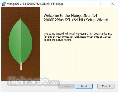 MongoDB 3.6.0 Screenshot 1