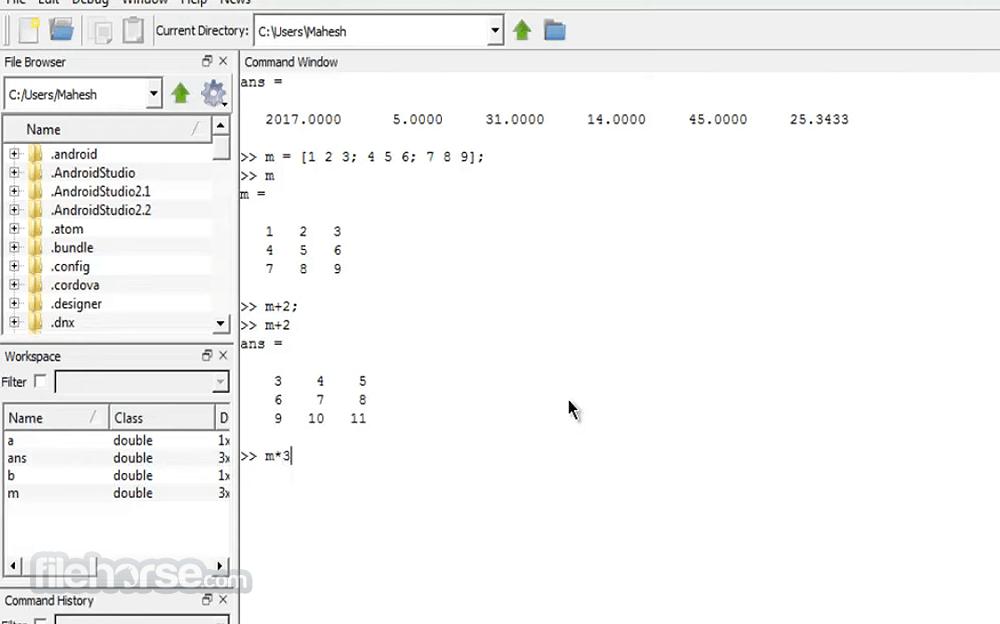 Octave 5.2.0 (32-bit) Screenshot 3
