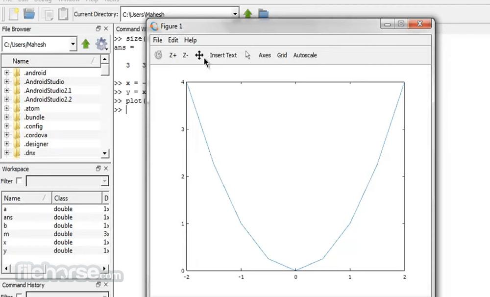 Octave 5.2.0 (32-bit) Screenshot 4