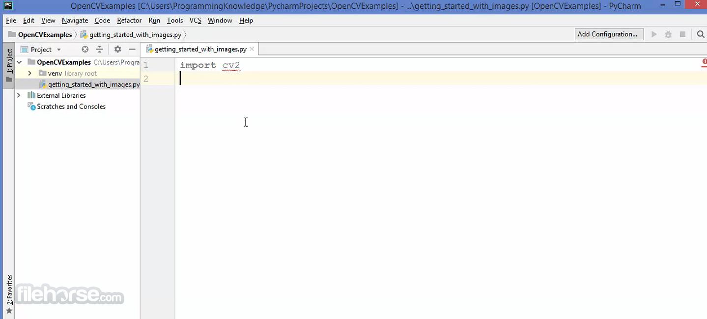 OpenCV 4.5.2 Screenshot 1