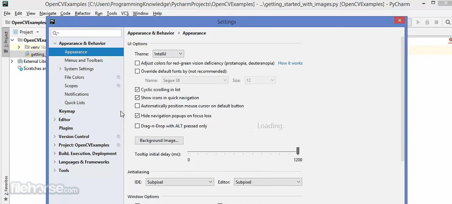 OpenCV 4.5.2 Screenshot 4