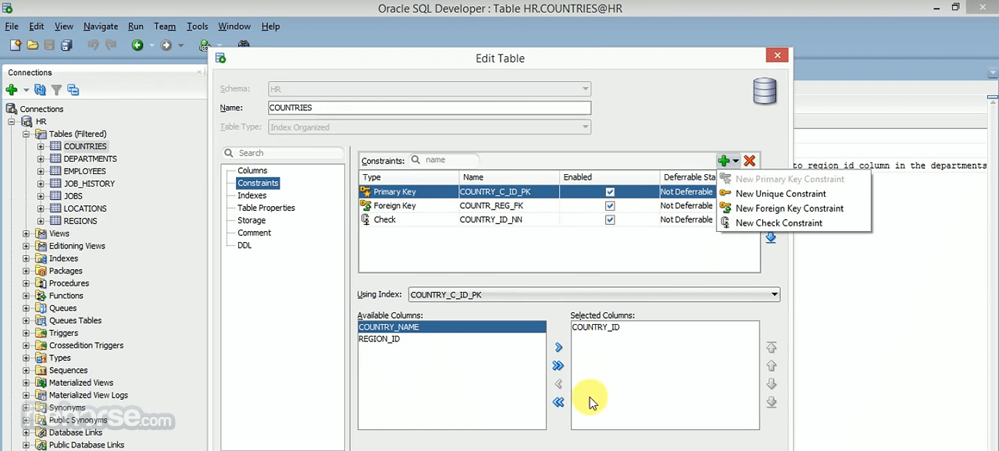 Oracle SQL Developer 20.2.0 (64-bit) Screenshot 3