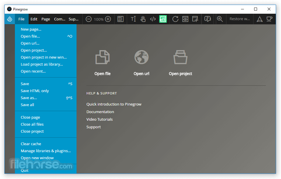 Pinegrow Web Editor 6.0 Screenshot 2